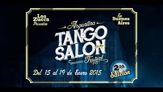 getlinkyoutube.com-Roberto Zuccarino & Magdalena Valdez, 2-2, Argentina Tango Salon Festival 2015