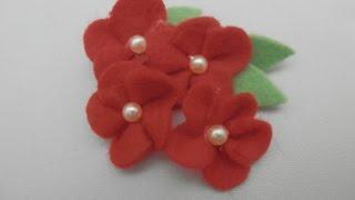 getlinkyoutube.com-Flor de feltro 7
