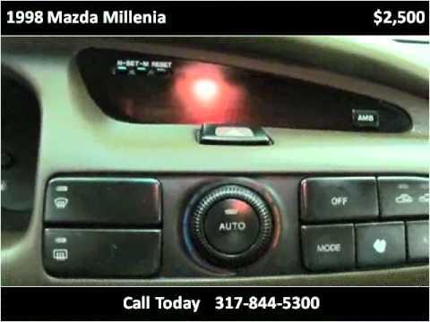 Расположение салонного фильтра у Mazda Xedos 9