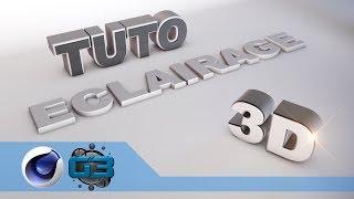 getlinkyoutube.com-[TUTO C4D] Eclairage et scène 3D
