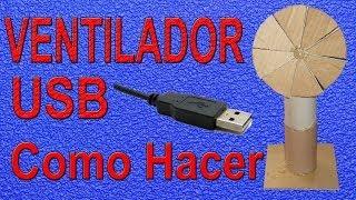 getlinkyoutube.com-Cómo Hacer Un Ventilador Casero  (Muy fácil de hacer)