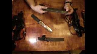 getlinkyoutube.com-Нож Кизляр Филин - первые впечатления. Unboxing Kizlyar Filin knife.