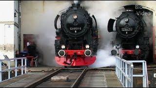 Eisenbahn 2012 1-5 Dampfloks - Steam Trains - Züge