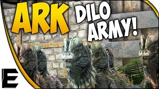 getlinkyoutube.com-ARK Survival Evolved Gameplay ➤ DILO ARMY! [Army Series]