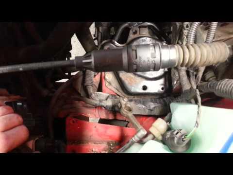 Как сжать трос сцепления на VW фольц ваген