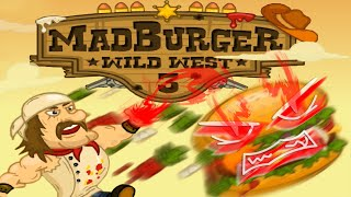 getlinkyoutube.com-Mad Burger 3 Wild West - ตำนานนักขว้างเบอร์เกอร์