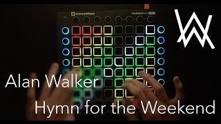 Alan Walker - Hymn For The Weekend (ft Coldplay)   Launchpad Pro Cover + Project File