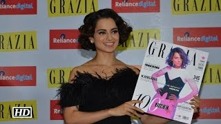 Kangana sizzles in Grazia India's 100th issue cover | Watch Video