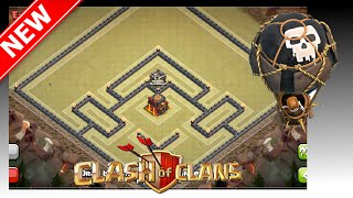 getlinkyoutube.com-EPIC Th10 War Base! The Axle - Anti-Gowipe & Mass Golem Attacks   Clash Of Clans