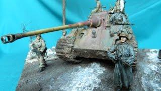 getlinkyoutube.com-Ardennenoffensive/Battle of the Bulge 1/35 Diorama