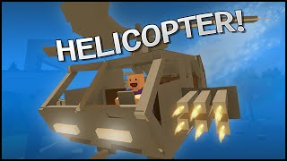 getlinkyoutube.com-Unturned 3.0 Building - HELICOPTER!