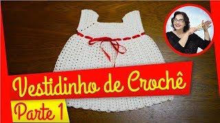 getlinkyoutube.com-CROCHÊ - VESTIDO BRANCO PARTE 1