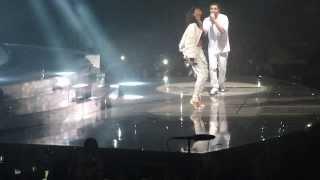 getlinkyoutube.com-Drake & Rihanna - Take care + dance + Pour it up LIVE @ Paris bercy (25.02.2014)