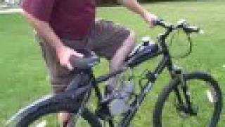 getlinkyoutube.com-Motorized Bicycle with Jackshaft Kit