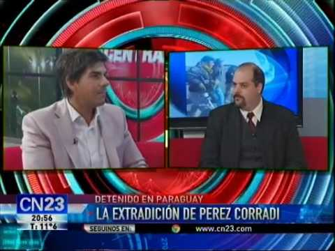 Extradición de Pérez Corradi