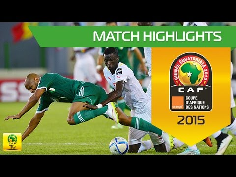 Senegal vs Algeria AFCON 2015
