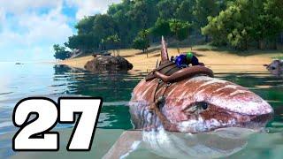 getlinkyoutube.com-EL MEGALODÓN CAGÓN!! ARK: Survival Evolved #27