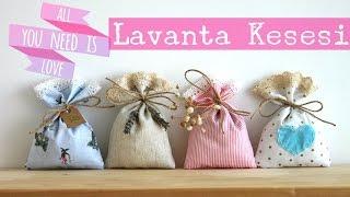getlinkyoutube.com-Lavanta Kesesi Yapımı / Düğün, Nişan, Baby Shower