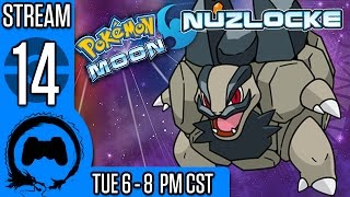 getlinkyoutube.com-Pokemon Moon NUZLOCKE (BLIND) Part 14 - Stream Four Star