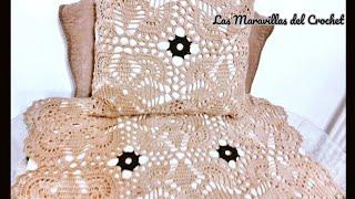 getlinkyoutube.com-Cuadro para colcha en crochet paso a paso✨🌠❇