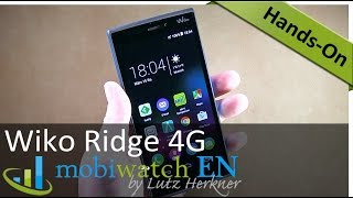 getlinkyoutube.com-Wiko Ridge 4G: Details and First Test Results of the Sexy Mobile – Hands-on Video