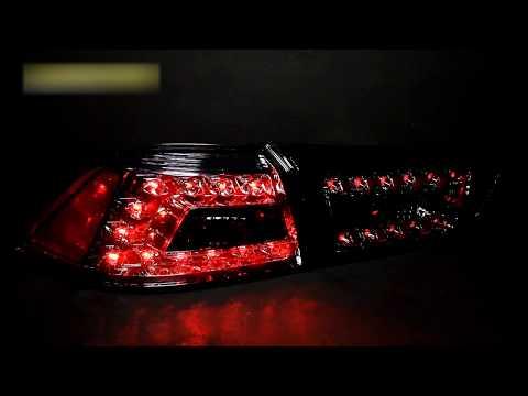 Задние фонари Mitsubishi Lancer Х тюнинг