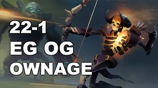 getlinkyoutube.com-EG vs OG Biggest OWNAGE #Rekt! 1-22 22:22 MDL Dota 2