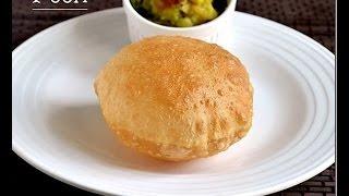 getlinkyoutube.com-Poori Recipe-How to make Puffy & Soft Poori/Puri