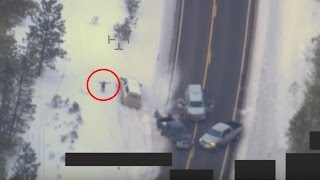 getlinkyoutube.com-UNEDITED - FBI Drone Footage of LaVoy Finicum shooting in Oregon