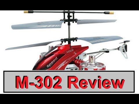 China Gadget Review: M-302 4-Kanal Helikopter  von Tmart.com