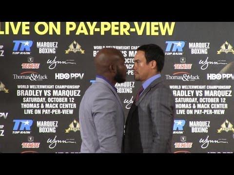 Tim Bradley vs. Juan Manuel Marquez: Full press conference highlights (HD)