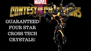 getlinkyoutube.com-Marvel: Contest of Champions (iOS/Android) - GUARANTEED FOUR STAR - CROSS TECH CRYSTALS!