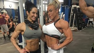 getlinkyoutube.com-Collection Muscle women  FBB  Female Bodybuilding Girl Muscles female biceps