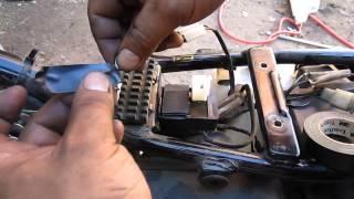 getlinkyoutube.com-como instalar el destellador flasher 12v en moto suzuki ax 100