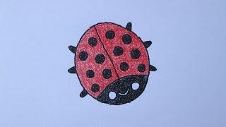 getlinkyoutube.com-Como desenhar uma joaninha