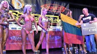 getlinkyoutube.com-Results - Women WFF Fitness- 4k - NABBA/WFF Austrian Championship 2016