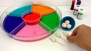 getlinkyoutube.com-Dye Coloring Play Doh Gummy Teddy Bears/Kids Creative Color Fun/Crayola Play Doh Teddy Bear Molds