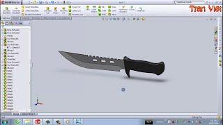 getlinkyoutube.com-SolidWorks Tutorial : Knife Columbia