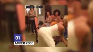 getlinkyoutube.com-Amber Rose, Rihanna,Nicki minaj Iggy Azalea,The Best Twerk moments 2015