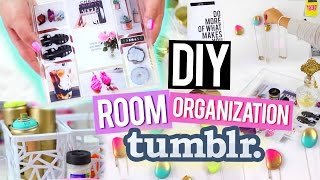 getlinkyoutube.com-DIY Room Organization for Cheap ♥ Tumblr Inspired Decor