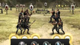 getlinkyoutube.com-17 Training Camp Stage 8   Walking Dead Road to Survival  World Mission