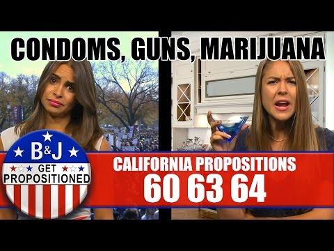 Props 60/63/64: Condoms, Guns, Marijuana