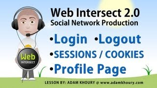 getlinkyoutube.com-7. PHP Tutorial - Log In Form - Log Out Script - Cookies and Sessions - User Profile
