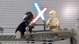 LEGO STAR WARS EP. V | Luke vs. Darth Vader | I Am Your Father