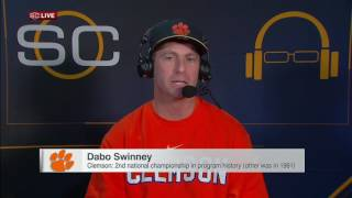 getlinkyoutube.com-Championship a special moment for Swinney, Clemson
