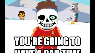 getlinkyoutube.com-(SPOILERS) Undertale | Sans fight & What Sans says after killing him a fourth time - Genocide run