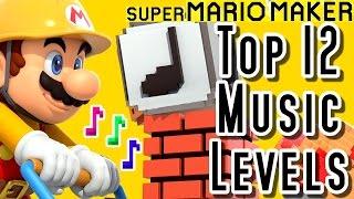 getlinkyoutube.com-Super Mario Maker TOP 12 MUSIC LEVELS (Wii U)