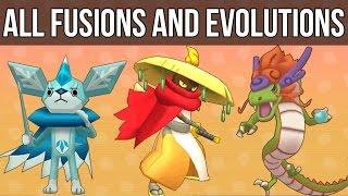 getlinkyoutube.com-Yo-Kai Watch - All Fusions and Evolutions