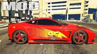 getlinkyoutube.com-Grand Theft Auto V Mods - Massacro Lightning McQueen GTA 5 Mods