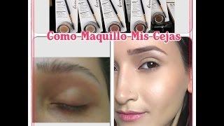 getlinkyoutube.com-Milani -  Stay Put Brow Color | RESEÑA y DEMO! || Maquillate Con Mile